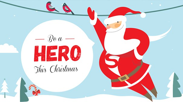 be a hero this christmas for CIN