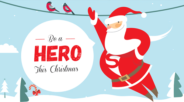 Be a hero this Christmas: donate to Children in Need & win