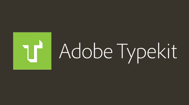 Adobe TYPEKIT loves our website