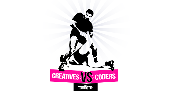 creatives vs coders the tech off
