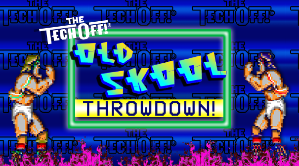 the tech off old skool throwdown