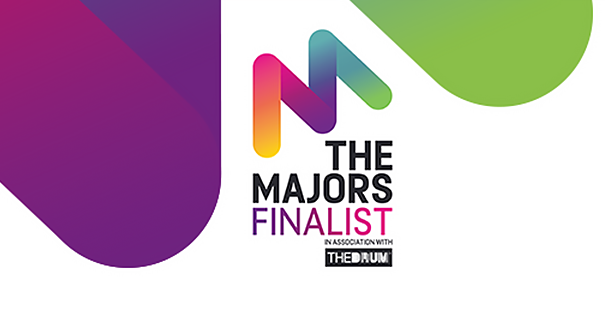 We're a finalist for Major Agency of the year