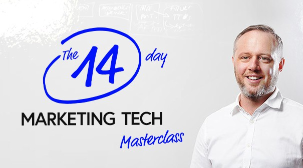 14 day marketing tech masterclass