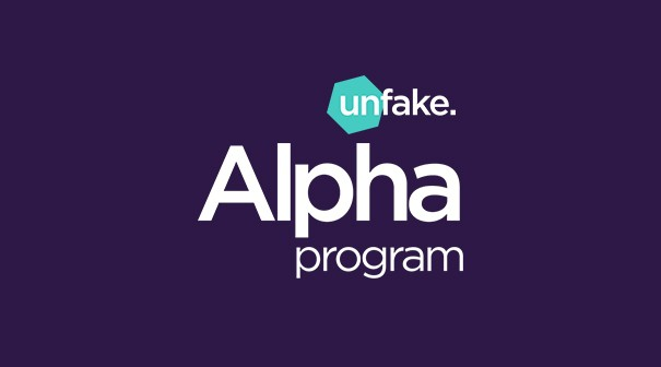 Unfake Alpha Program