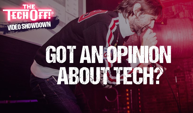 Going global with The Tech Off® Video Showdown!