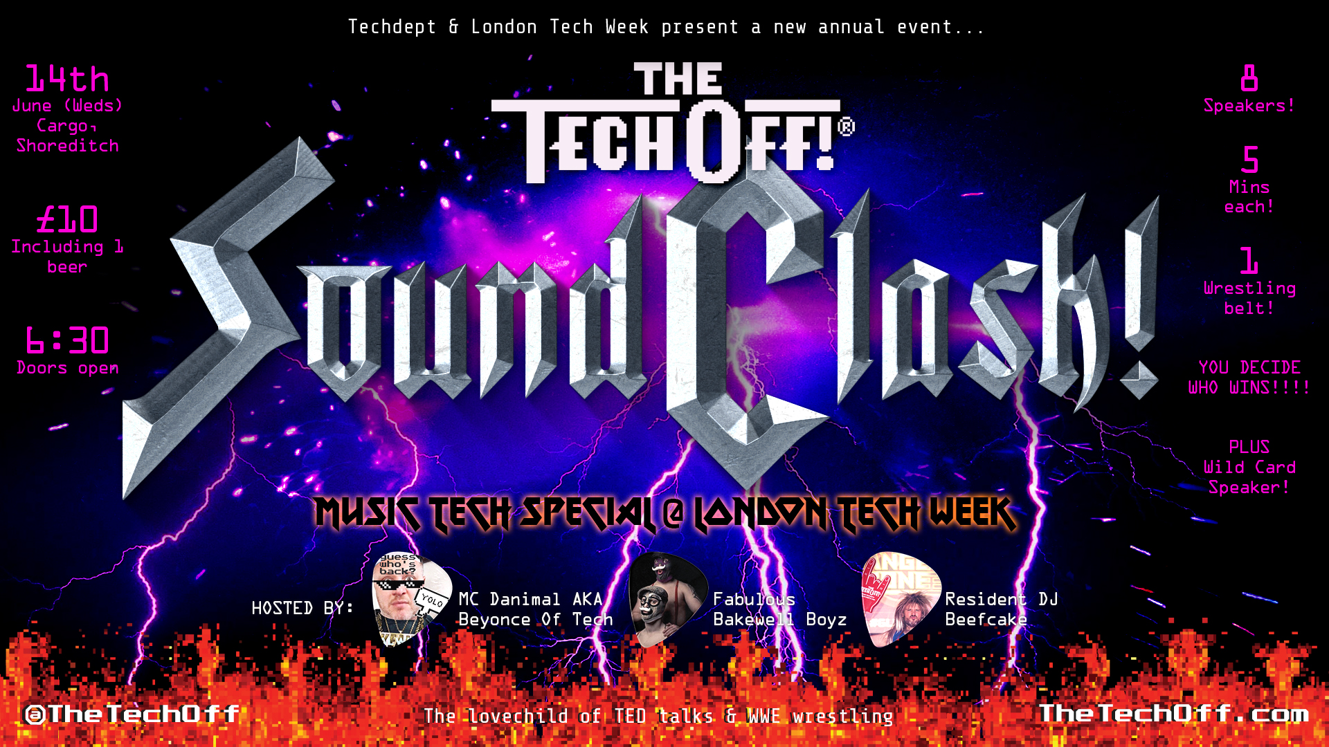 Countdown to The Tech Off: Soundclash!