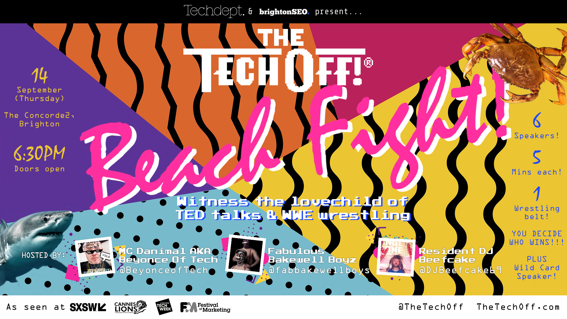 The Tech Off! back in a September Showdown